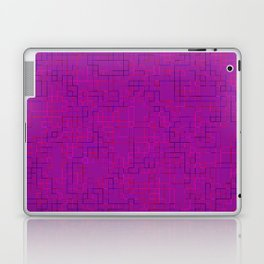Re-Created SquaresXXXII by Robert S. Lee Laptop & iPad Skin