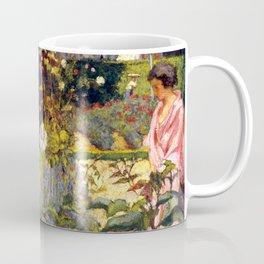 Garden at Vaucresson by Édouard Vuillard - Les Nabis Oil Painting Coffee Mug