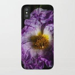 Fragile Flower iPhone Case