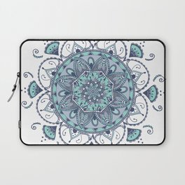 Mandala Océan By Sonia H. Laptop Sleeve