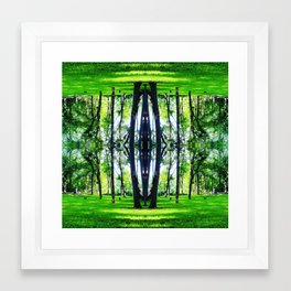 Talking Trees (Part 1) Framed Art Print