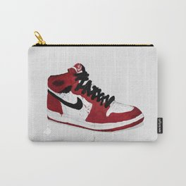 Nike Air Force 1 - Retro - Red & Black & White Carry-All Pouch