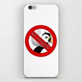 No Puffin iPhone Skin