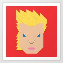 Captain.Marvel Art Print