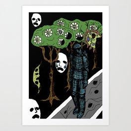 Decaying Wonderland V Art Print