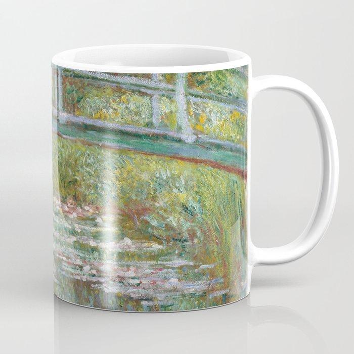 Claude Monet - Bridge over a Pond of Water Lilies (1899) Coffee Mug