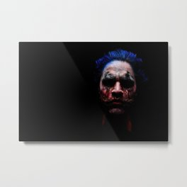 Psycho Clown Metal Print