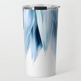 Agave geo fringe - blue Travel Mug