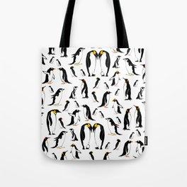 Penguin pattern Tote Bag