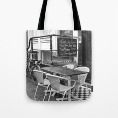 Lunch Under The Rain - Amsterdam Tote Bag