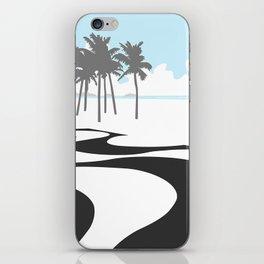Copacabana. (Praia Leme.) iPhone Skin