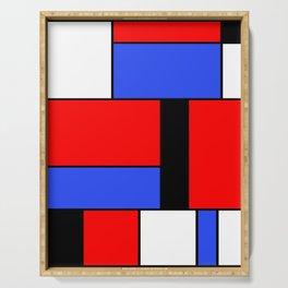 Mondrian #51 Serving Tray