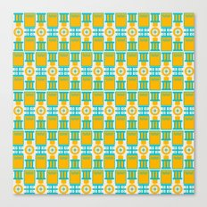 Summer geometry Canvas Print