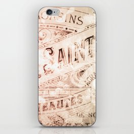 That Time in Paris iPhone Skin