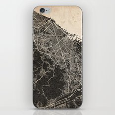 Barcelona map ink lines iPhone & iPod Skin