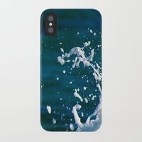 salt water iPhone & iPod Cases featuring Salt Water by Diana Chan