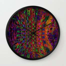 Way Out There Wall Clock