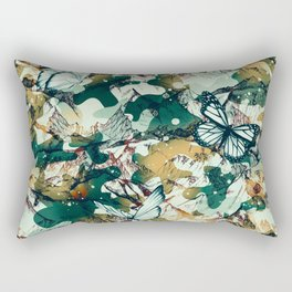 Mountainous camouflage Rectangular Pillow