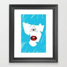 hairy Framed Art Print