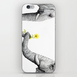 """""""Up Close You Are More Wrinkly Than I Remembered"""" iPhone Skin"""