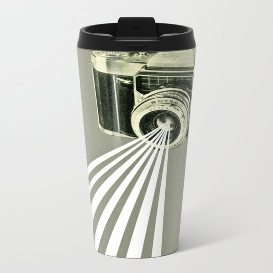 Depth of Field Metal Travel Mug
