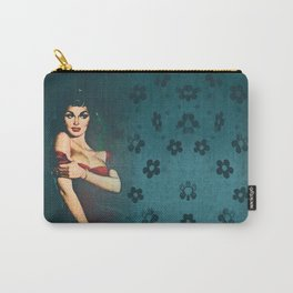Flower In A Smoky Room Carry-All Pouch