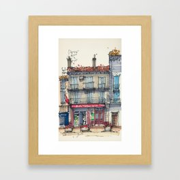 Bar Tabac Le 421 Framed Art Print