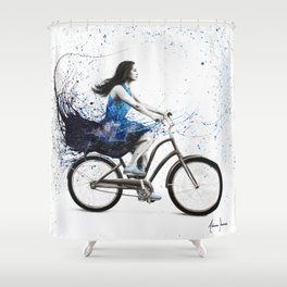 Forever Tonight Shower Curtain