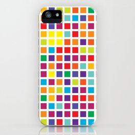 City Blocks - Rainbow #494 iPhone Case