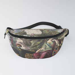 Raphael's Prophetic Almanack: a funeral, war, and riotous assembly (1838) Fanny Pack