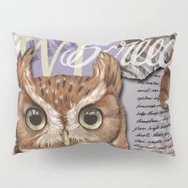 The Screech Owl Journal Pillow Sham