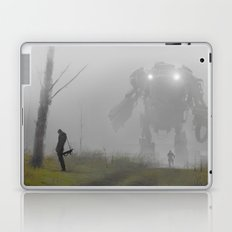 mech in the mist Laptop & iPad Skin