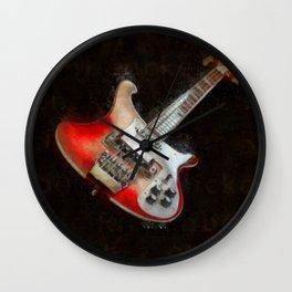 Rick and Famous - My 4003 Rickenbacker Basss Wall Clock