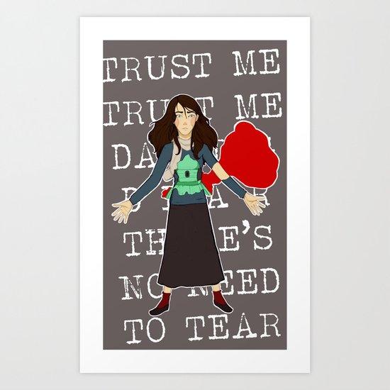 The Unmaking of Tamara Art Print