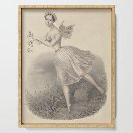 Currier Charles  Hermine Blangy de lAcademie royale de musique de ParisAdditional Giselle Serving Tray