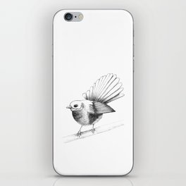 New Zealand Fantail iPhone Skin