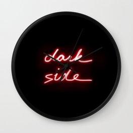 Dark Side Neon Wall Clock