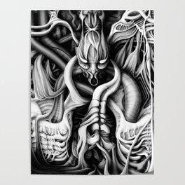 Alien flesh #1 Poster