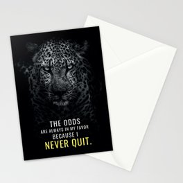 I Never Quit Stationery Cards