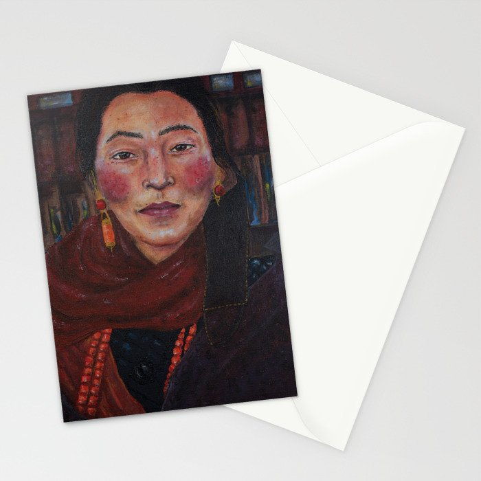 Nepalese Woman Stationery Cards