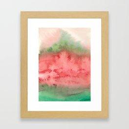 fruitful deja vu Framed Art Print
