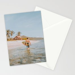 lets surf xvi / indonesia Stationery Cards