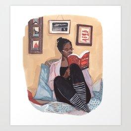 Quarantine Bookclub: Georgia  Art Print