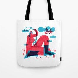 Runaway Pegasus Tote Bag