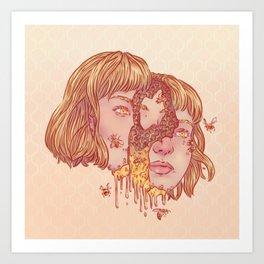 Jaune Art Print