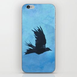 As The Crow Flys iPhone Skin