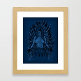 The Ice Queen Framed Art Print