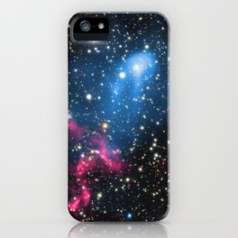 188. Abell 3411 and Abell 3412: Astronomers Discover Powerful Cosmic Double Whammy iPhone Case