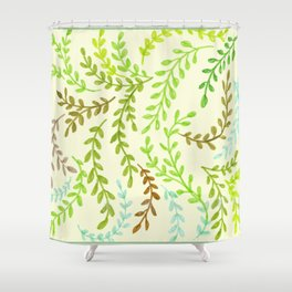Leaves, 2 Shower Curtain
