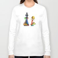 chess Long Sleeve T-shirts featuring chess by tatiana-teni